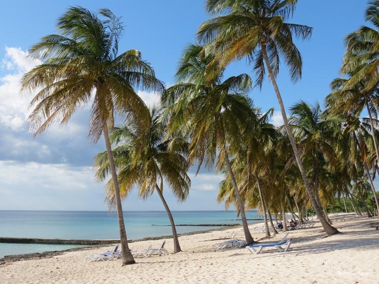 Bijkomen op het strand op Cuba Maria de la Gorda
