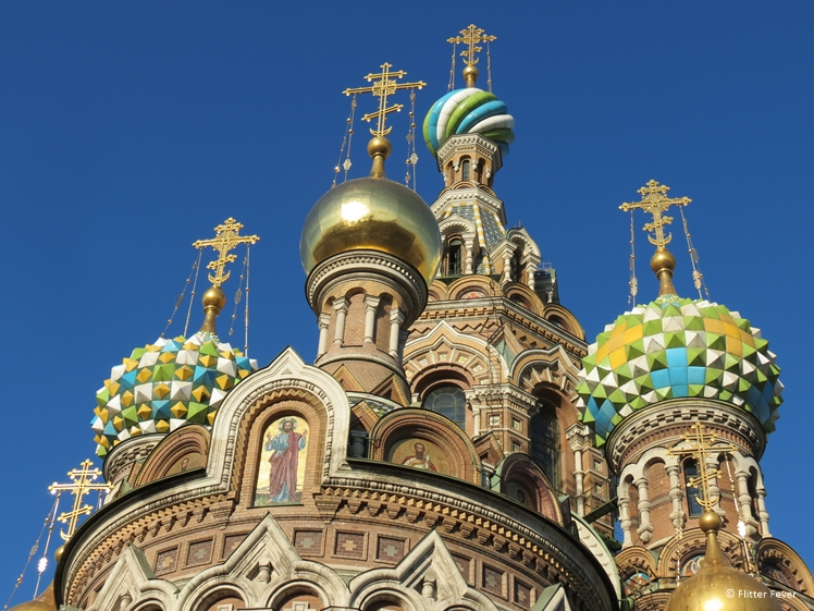 De Kerk van de Verlosser op Gemorst Bloed in Sint-Petersburg
