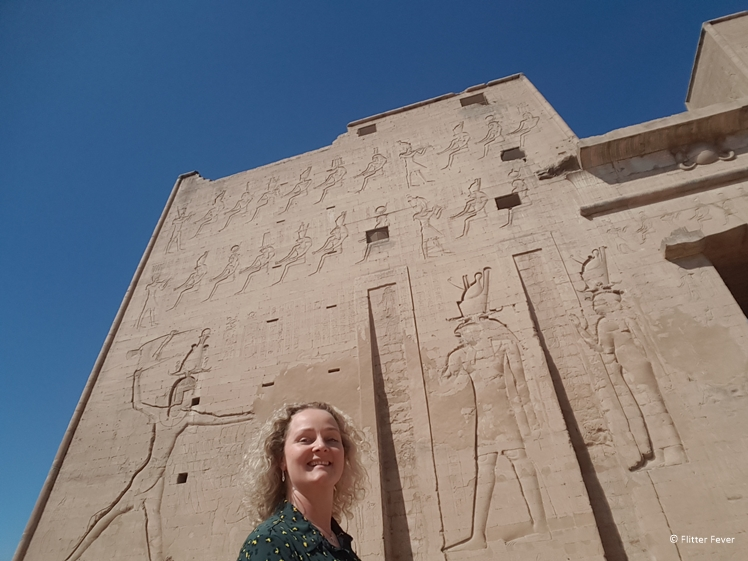 Edfu between Kom Ombo and Luxor