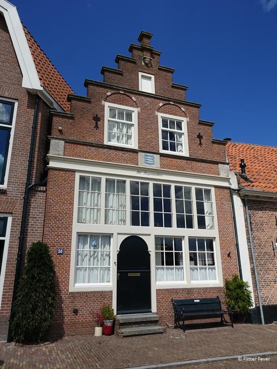 Het Koopmanshuis aan de Oude Haven Enkhuizen
