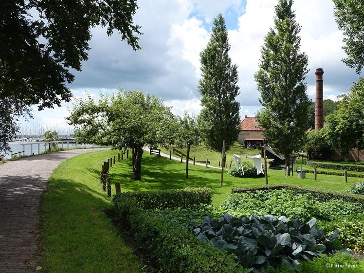 The Zuiderzeemuseum is located directly on the IJsselmeer