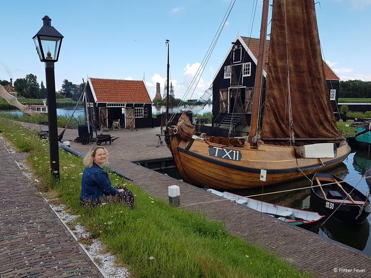 Nice part of the outdoor museum of the Zuiderzeemuseum Enkhuizen