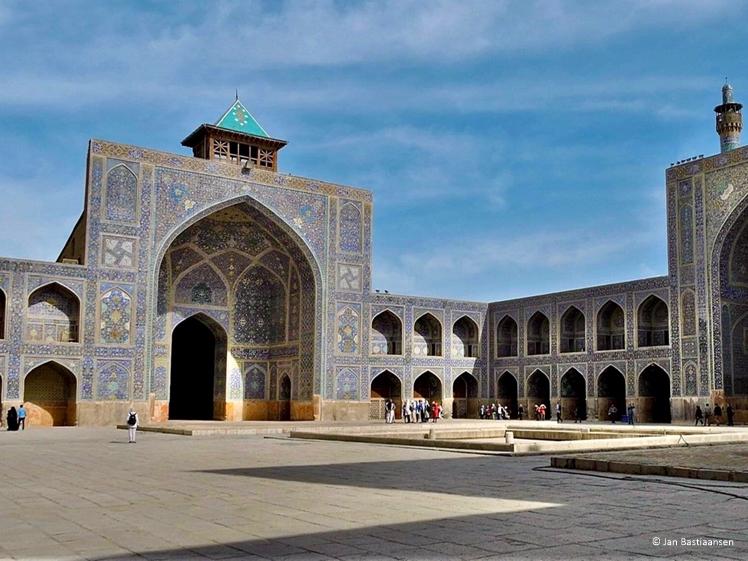 Moskee in Iran (foto Jan Bastiaansen)