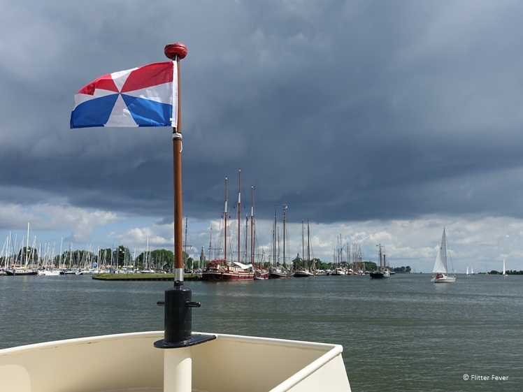 On the ferry to Enkhuizen