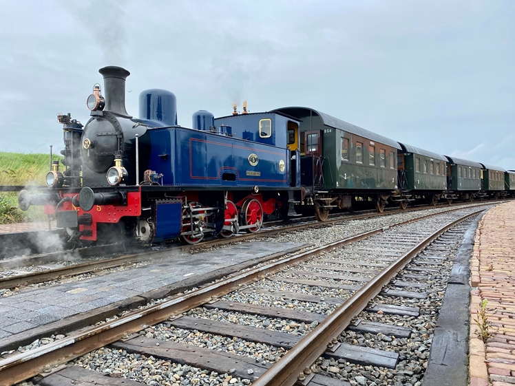 Steam tram Medemblik - Hoorn Historical Triangle