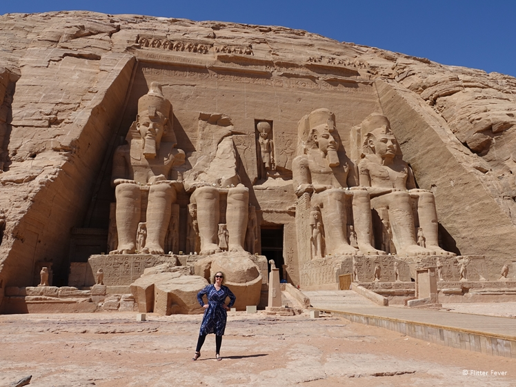 The temple of Ramses II at Abu Simbel South Egypt