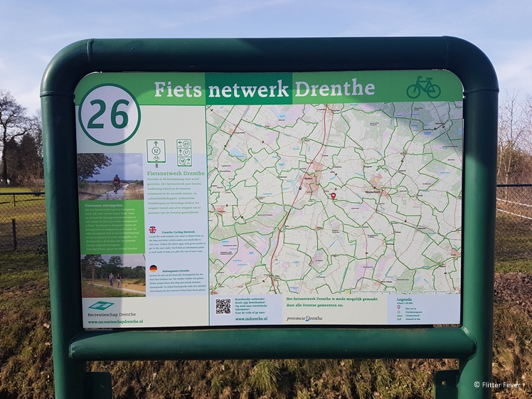 Bicycle network Drenthe # 26