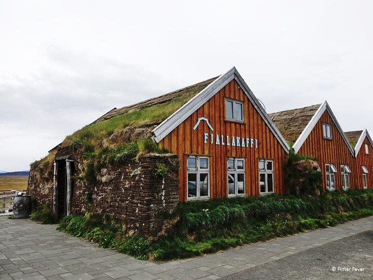 Restaurant Fjallakaffi in Egilsstadir richting het Mývatn Meer
