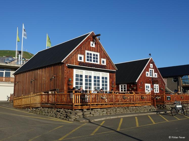 Gamli Baukur restaurant, het oudste en beste restaurant van Husavik