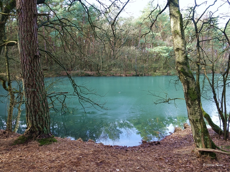 The Blue Lake near the Drents-Friese Wold National Park