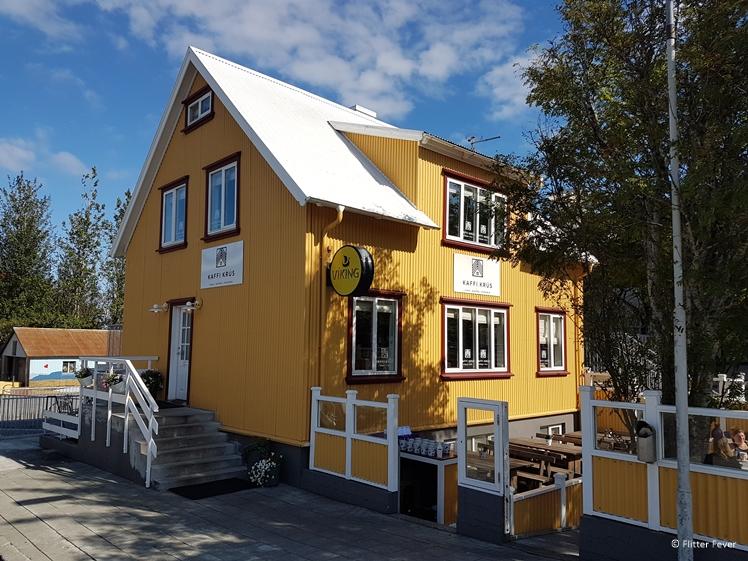 Kaffi Krus in Selfoss restaurant