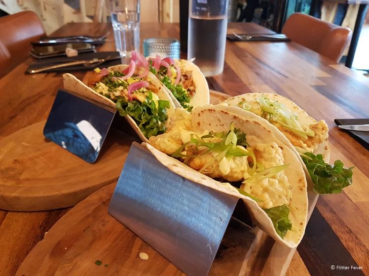 Soft tacos bij Hraun Snæfellsnes restaurant