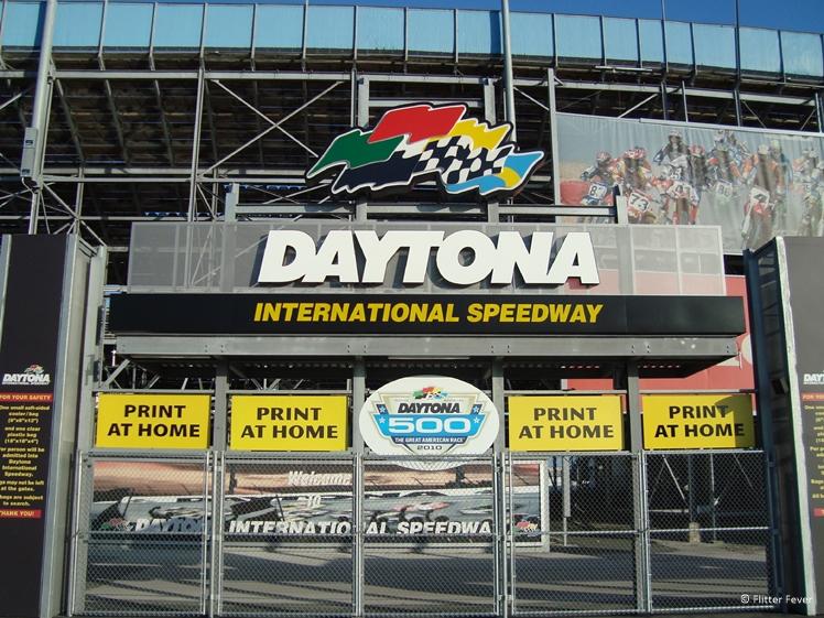 Daytona International Speedway entrance gate