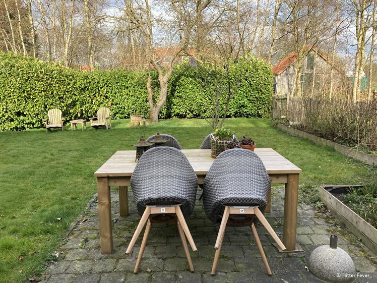 Own piece of garden at Efkesutfanhuzje in Southeast Friesland Hoornsterzwaag