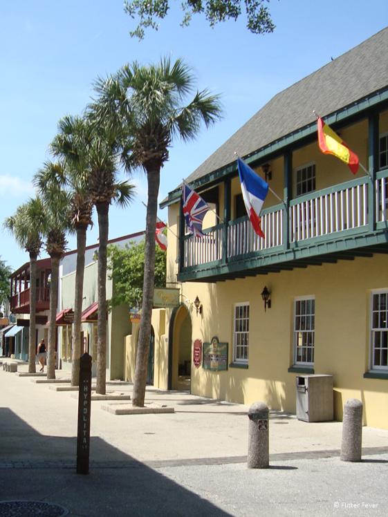 Het historische centrum van St. Augustine Florida
