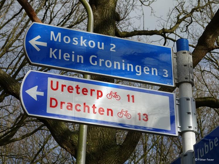 Moskou verkeersbord Friesland