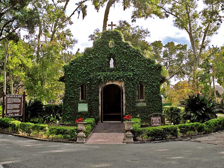 Our Lady of La Leche Chapel, Mission Nombre de Dios, St. Augustine