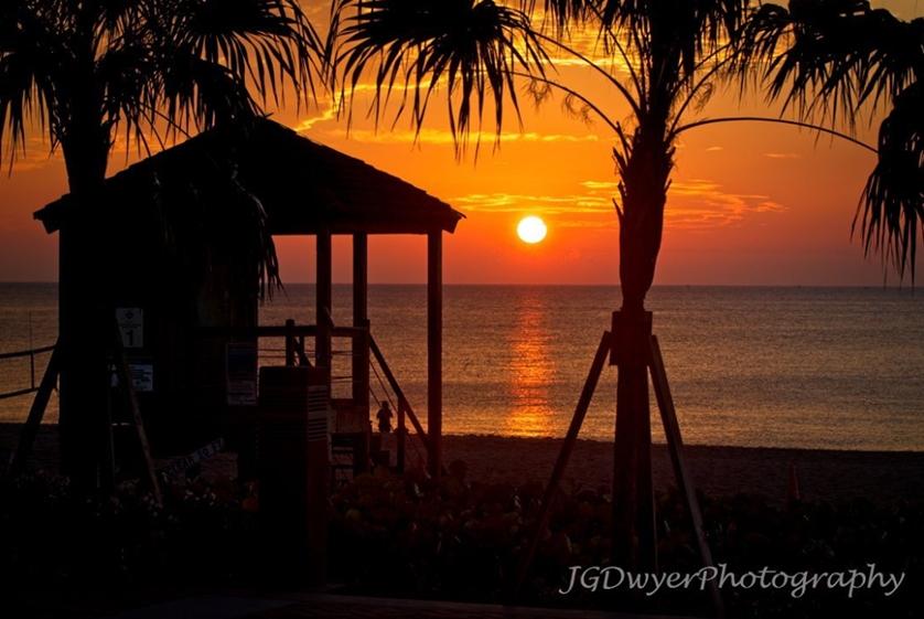 Sunrise in Deerfield Beach Florida John Dwyer Photography