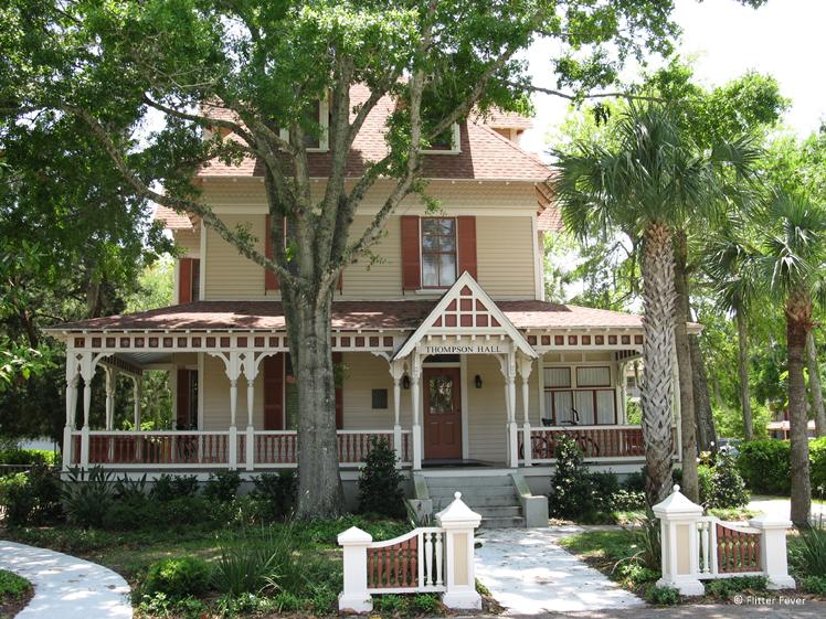 Thompson Hall St. Augustine Florida round trip