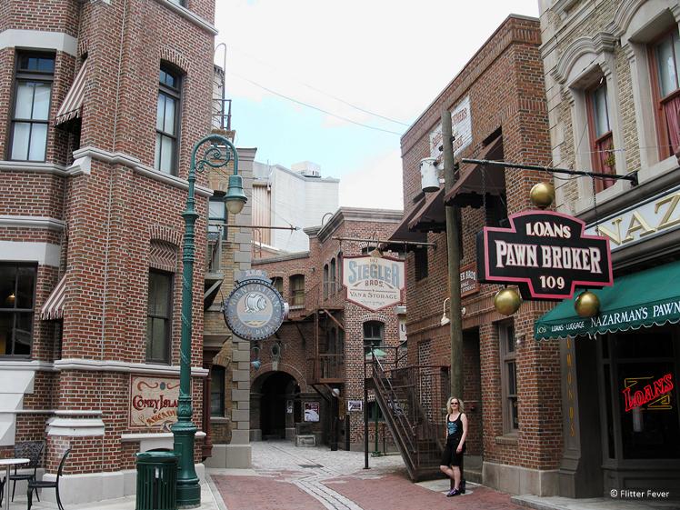Universal Studios Orlando movie set
