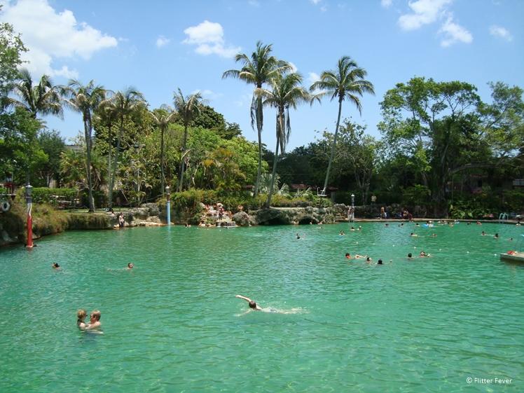 Venetian Pool Coral Gables near Miami Florida