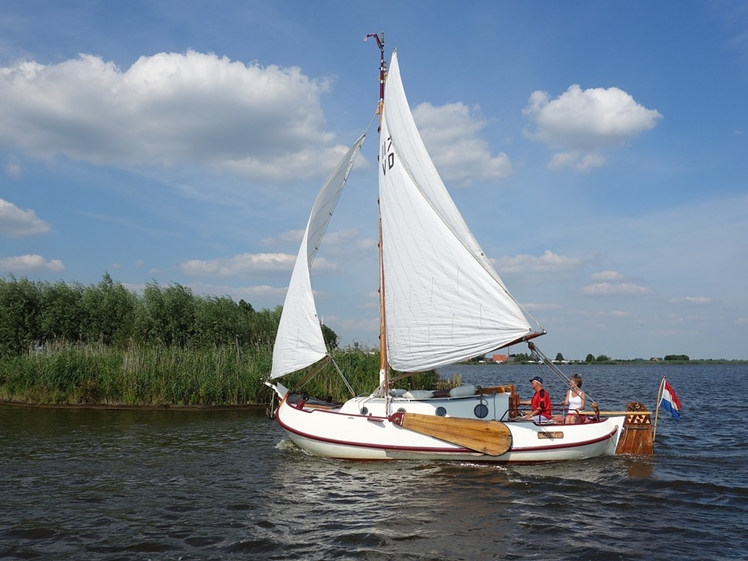 Those who like sailing can enjoy themselves in Friesland