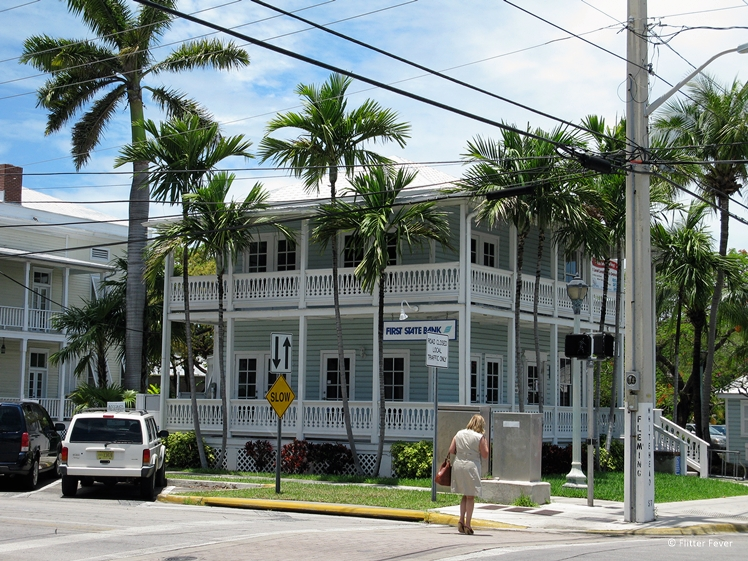 Bank building in Key West Florida