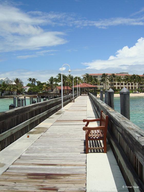 Key West houten pier Florida