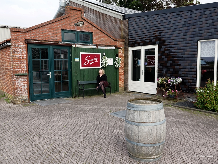 Restaurant Saalig at Wijngaard Saalhof in Wognum