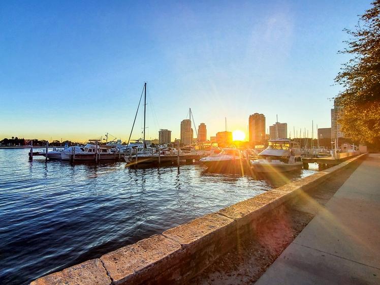 St. Pete Beach Florida Marina