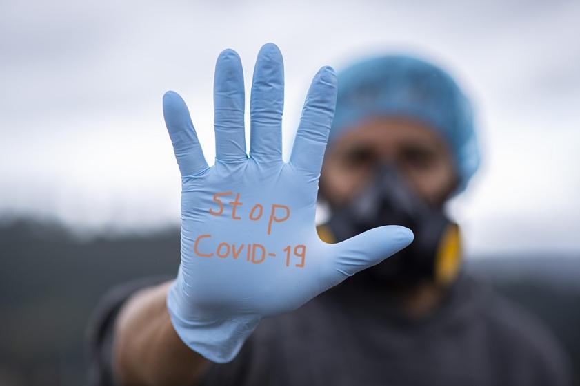 stop COVID home quarantine Corona