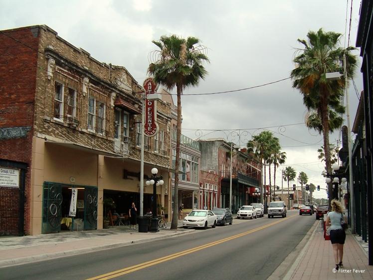 Walking through creepy Ybor City near Tampa