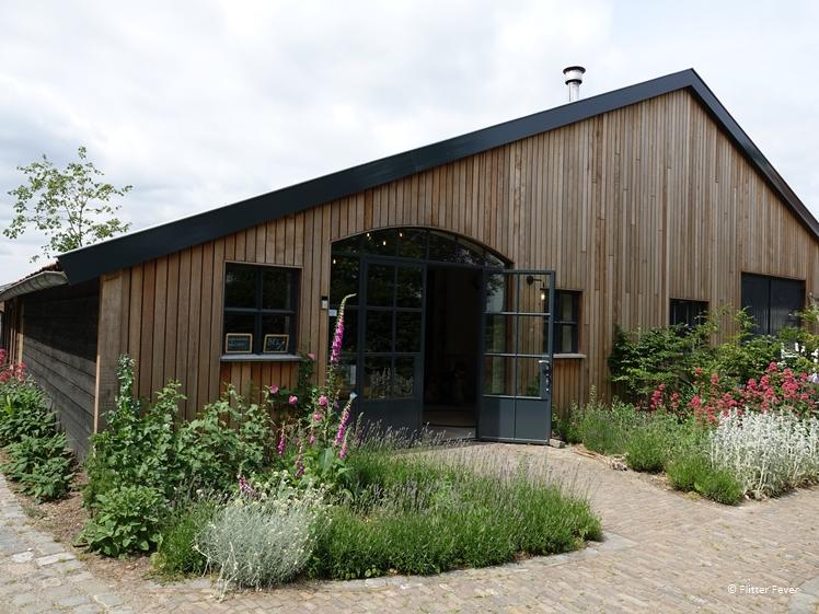 Wine tasting room Wijngoed Wolf Sint-Michielsgestel North Brabant Dutch vineyard