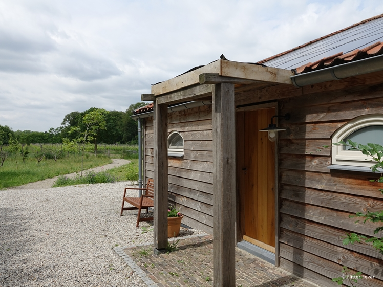 Staying at winegrower vineyard Wijngoed Wolf Brabant