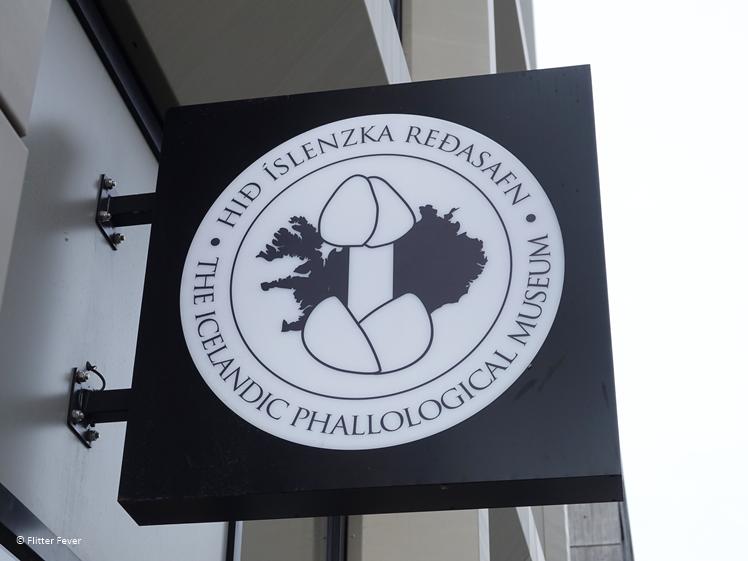 The Icelandic Phallological Museum entreebordje