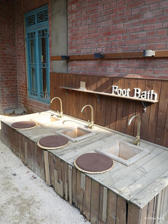 Bukchon Hanok Village voetenbad