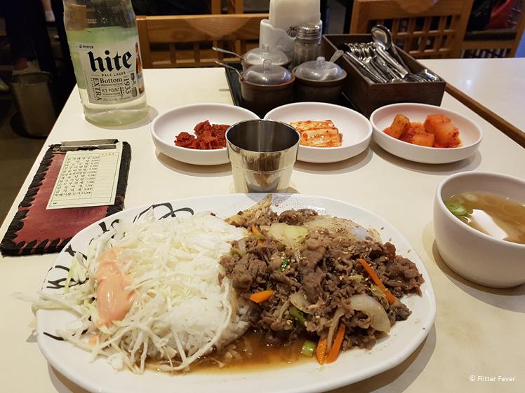 Koreaans eten in Zuid Korea is lekker