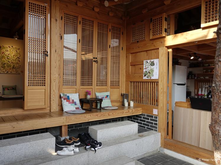 Theehuis in Bukchon Hanok Village Seoul